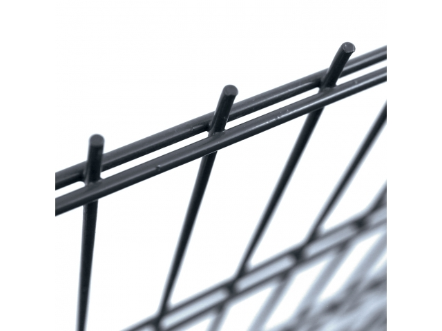 Svařovaný panel PILOFOR® SUPER Zn+PVC - antracit