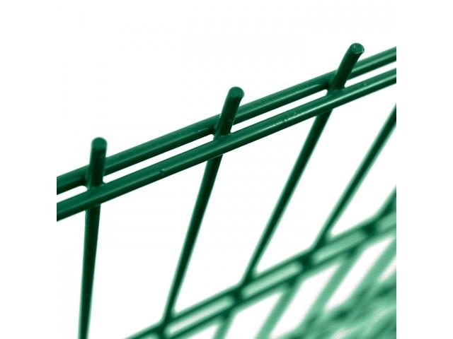 Svařovaný panel PILOFOR® SUPER STRONG Zn+PVC - zelený