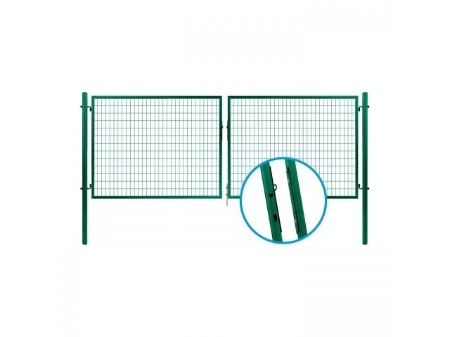 Brána SOLID® Zn+PVC