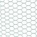 Chovatelské šestihranné pletivo poplastované (Zn + PVC) 16 mm - výška 100 cm, role 25 m
