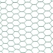 Chovatelské šestihranné pletivo poplastované (Zn + PVC) 13 mm - výška 50 cm, role 10 m