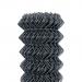 Čtyřhranné pletivo poplastované IDEAL® Zn + PVC 50 (kompaktní role, bez napínacího drátu) - výška 125 cm, antracit, 25 m