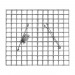 gabiónový kôš BASIC 60, 600x600x300mm, oko 50x50mm, priemer drôtu 3,5mm, 6x spona, 150x svorka