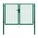 Dvoukřídlá brána PILGATE® poplastovaná (Zn + PVC) - rozměr 3024 × 1450 mm
