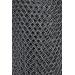Kovová pletená síť pozinkovaná (Zn), průměr oka 12,5 × 12,5 mm - výška 1m